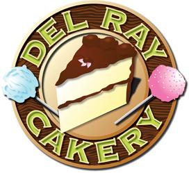 Del Ray Cakery logo